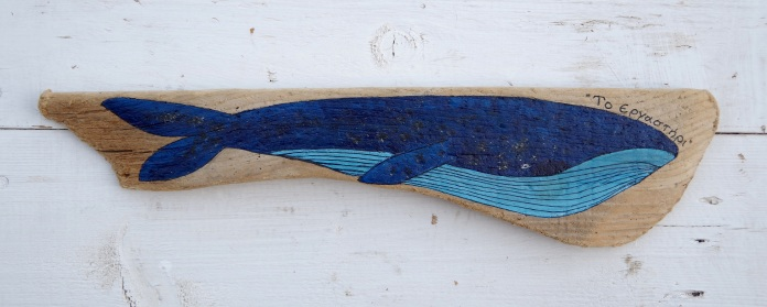 Painted Driftwood