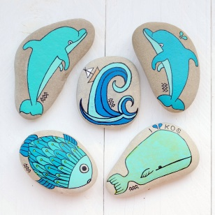 Painted Sea Stones