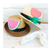 painted summerhat